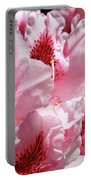 Rhodies Pink Fine Art Photography Rhododendrons Baslee Troutman Portable Battery Charger