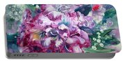 Rhododendron And Lily Of The Valley Portable Battery Charger