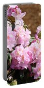 Rhododendron Flower Garden Art Prints Canvas Pink Rhodies Baslee Troutman Portable Battery Charger