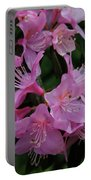 Rhododendron In The Pink Portable Battery Charger