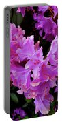 Rhododendron Pink Portable Battery Charger