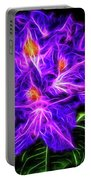 Rhododendron Topaz Portable Battery Charger