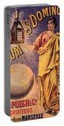 Rhum - Bottle - Earth - Map - Poster - Vintage - Wall Art - Art Print  - Girl  Portable Battery Charger