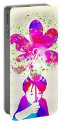 Rhythm Of Life - Purple Portable Battery Charger