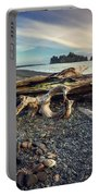 Rialto Beach Washington Portable Battery Charger