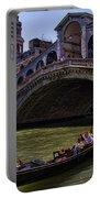 Rialto Bridge In Venice Italy Portable Battery Charger