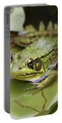 Ribbet In The Pond Portable Battery Charger