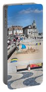 Ribeira Beach In Cascais Portugal Portable Battery Charger