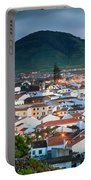 Ribeira Grande At Nightfall Portable Battery Charger