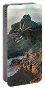 Ribera Beach Sunset Carmel California Portable Battery Charger