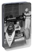 Riccardo Patrese. 1986 Spanish Grand Prix Portable Battery Charger