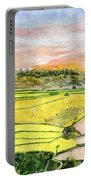 Ricefield Terrace Portable Battery Charger