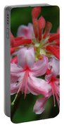 Rich Pink Blossoms Portable Battery Charger