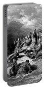 Richard I The Lionheart Delivering Jaffa 1877 Portable Battery Charger