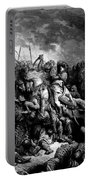 Richard I The Lionheart In Battle At Arsuf In 1191 1877 Portable Battery Charger