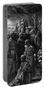 Richard I The Lionheart Massacres Captives In Reprisal 1877 Portable Battery Charger