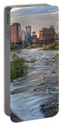 Richmond Evening Skyline I Portable Battery Charger