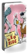 Ride A Leg. Portable Battery Charger