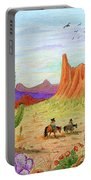 Ridin' The Range Portable Battery Charger