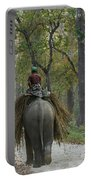 Riding An Elephant Portable Battery Charger