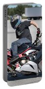 Riding Backwards Portable Battery Charger