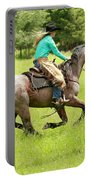 Riding Fast  Portable Battery Charger