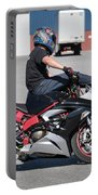 Riding On Handle Bars Portable Battery Charger