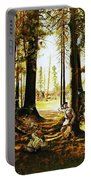 Riflemen At Saratoga Portable Battery Charger