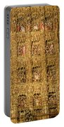 Right Half - The Golden Retablo Mayor - Cathedral Of Seville - Seville Spain Portable Battery Charger