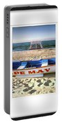 Cape May Beach Scene Series Portable Battery Charger