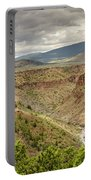 Rio Grande Gorge At Wild Rivers Recreation Area Portable Battery Charger