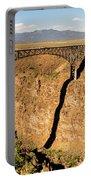 Rio Grande Gorge Bridge Taos New Mexico Portable Battery Charger