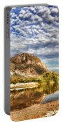 Rio Grande River Oil Painting Portable Battery Charger