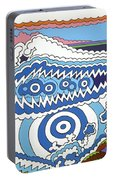 Rip Tide Portable Battery Charger by Rojax Art