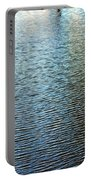 Ripples And Reflections Abstract Portable Battery Charger