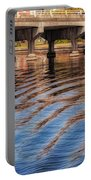 Ripples And Reflections Portable Battery Charger
