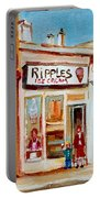 Ripples Icecream  Portable Battery Charger