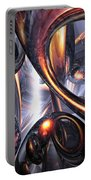 Rippling Fantasy Abstract Portable Battery Charger