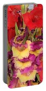 Rising Flowers Portable Battery Charger