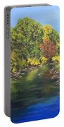 River At Hidden Acres 1. Portable Battery Charger