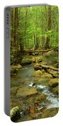 River Crossing On The Maryland Appalachian Trail Portable Battery Charger