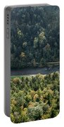 River Dunajec In Pieniny Mountains Portable Battery Charger