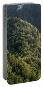 River In Forest Mountains Portable Battery Charger