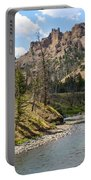 River In Shoshone Portable Battery Charger