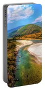River In The Hills Portable Battery Charger