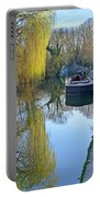 River Reflections  Portable Battery Charger by Gill Billington