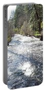 River Runs Through It Portable Battery Charger