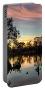 River Sunrise Portable Battery Charger