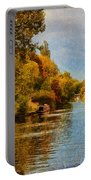 River Thames At Staines Portable Battery Charger