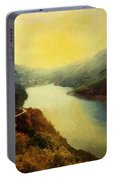 River Valley Sunrise Portable Battery Charger